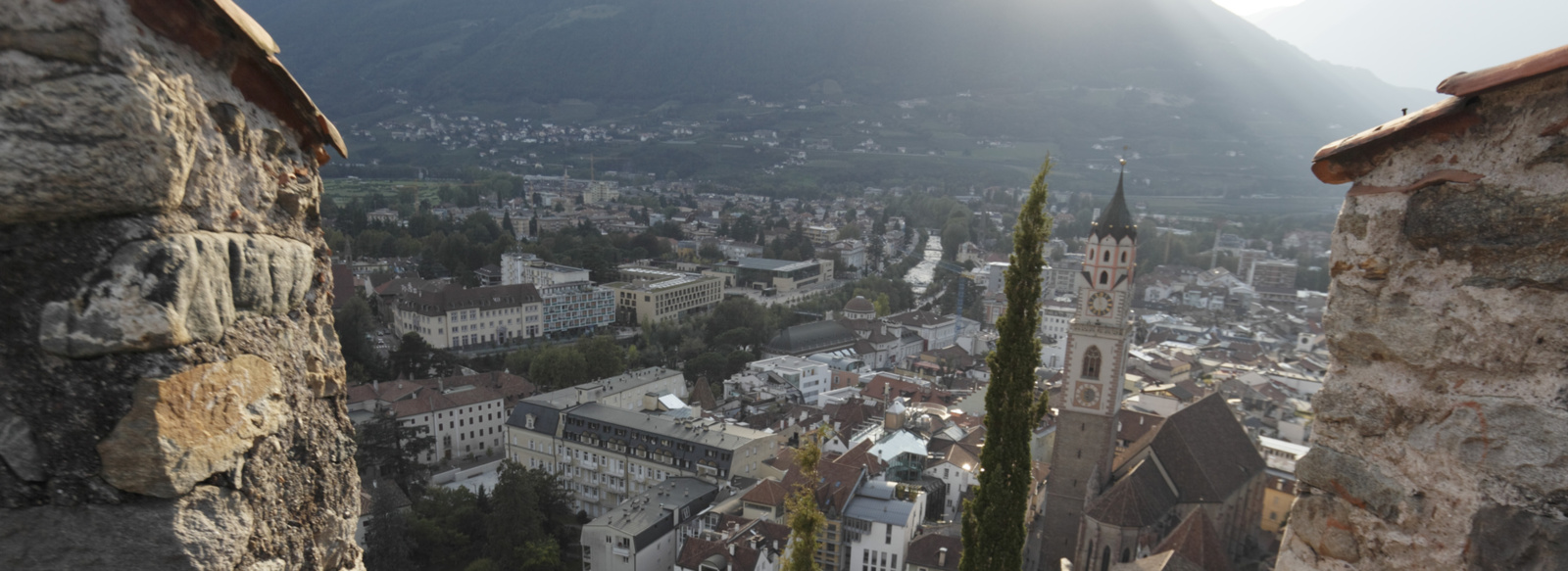 The Powder Tower in Merano in South Tyrol - Lana